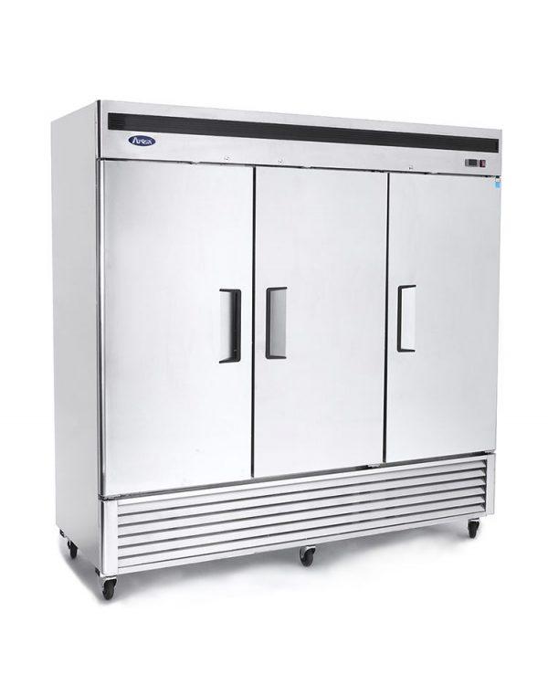 Atosa Bottom Mount 3 Three Door Refrigerator Mbf8508